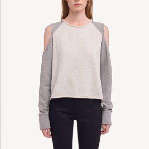 Rag and Bone Slash Pullover Sweatshirt